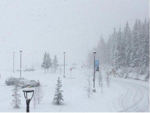 USA - Na Alasce odnotowano największe od 23 wrześniowe opady śniegu