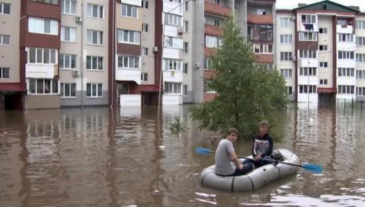 Ussurijsk, Rosja - Potężna nawałnica zalała miasto i zwierzęta w zoo -2