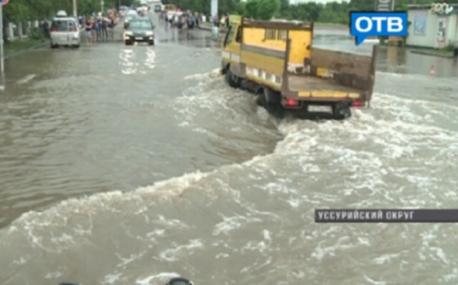 Ussurijsk, Rosja - Potężna nawałnica zalała miasto i zwierzęta w zoo -4