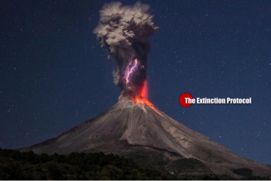Wulkan Colima - Meksyk