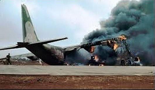 Afganistan - Amerykański samolot C-130 Herkules rozbił się w okolicach lotniska w Dżalalabadzie