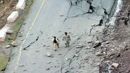 Afganistan - Silne trzęsienie ziemi o magnitudzie 7.5, co najmniej 105 osób zabitych -2