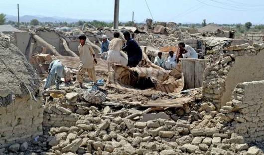 Afganistan - Silne trzęsienie ziemi o magnitudzie 7.5, co najmniej 105 osób zabitych -7