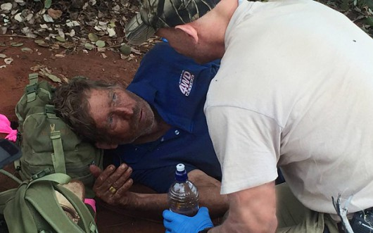 Australia - Przeżył 6 dni buszu bez kropli wody dzięki temu, że jadł mrówki -2