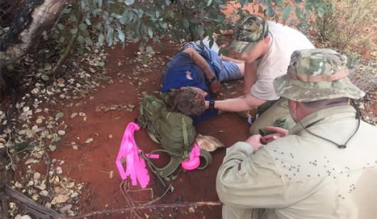 Australia - Przeżył 6 dni buszu bez kropli wody dzięki temu, że jadł mrówki
