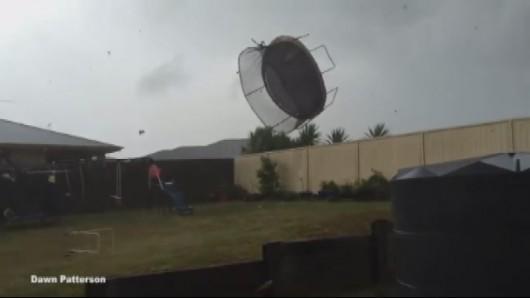 Australia - Superkomórka burzowa w Queensland -1