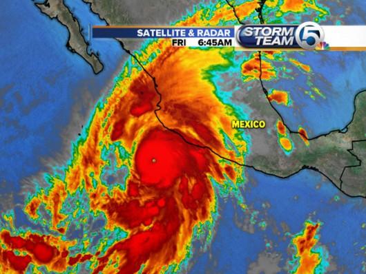 Burza tropikalna Patricia jest już huraganem piątej kategorii