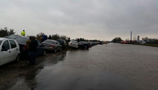 Corbu, Rumunia - Ulewne deszcze doprowadziły do powodzi -1