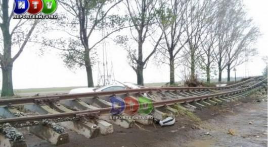 Corbu, Rumunia - Ulewne deszcze doprowadziły do powodzi -5