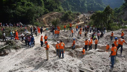 GUATEMALA-RAINS-LANDSLIDE