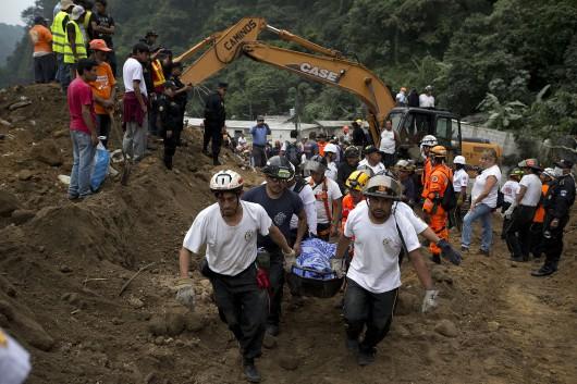Gwatemala - Lawina błotna zabiła co najmniej 30 osób -3