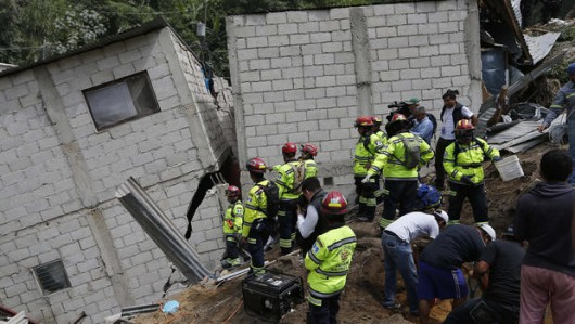 Gwatemala - Lawina błotna zabiła co najmniej 30 osób -7