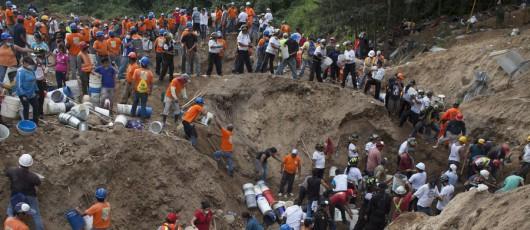 Gwatemala - W lawinie błotnej, która zeszła 10 dni temu zginęło 266 osób, kilkadziesiąt osób nadal jest zaginionych