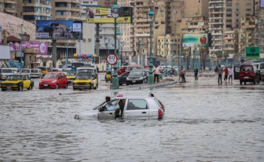 Izrael i Egipt - Z powodu nawałnic zginęło 6 osób -3