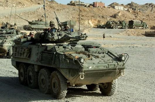 Kanadyjski pojazd wojskowy
