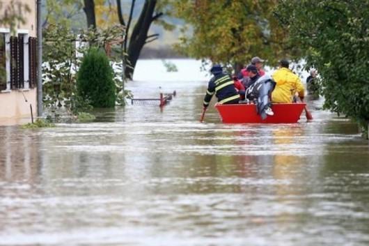 Karlovac, Chorwacja - Kolejna powódź w zaledwie tydzień -2