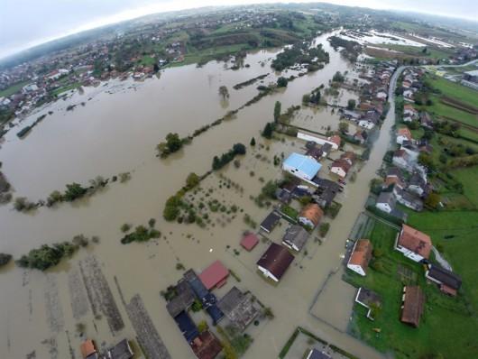 Karlovac, Chorwacja - Kolejna powódź w zaledwie tydzień -4