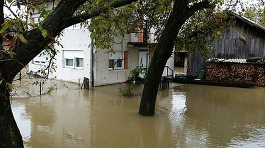 Karlovac, Chorwacja - Kolejna powódź w zaledwie tydzień