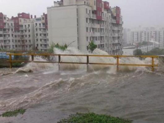 Kolumbia - Ulewne deszcze w Barranquilla -1