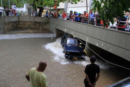 Kolumbia - Ulewne deszcze w Barranquilla -4