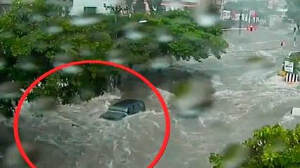 Kolumbia - Ulewne deszcze w Barranquilla -6