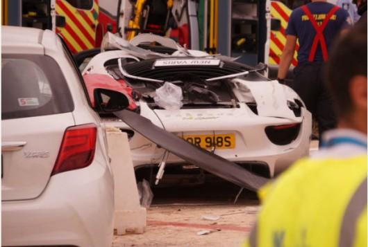 Malta - Porsche 918 Spyder wpadło w tłum ludzi w czasie pokazu charytatywnego -5