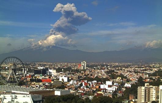 Meksyk - Wulkan Popocatepetl -2