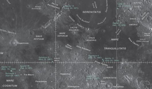 Nowa mapa Księżyca -1
