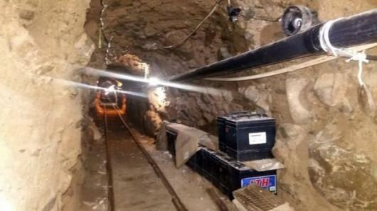 Policja odkryła tunel o długości 800 metrów do przemytu narkotyków między USA, a Meksykiem -3