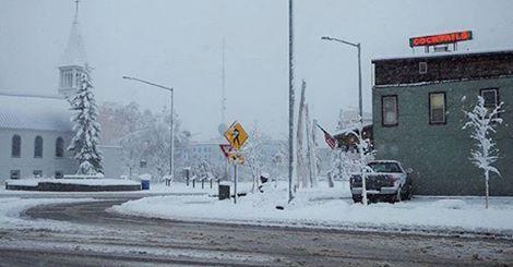 USA - Kolejna śnieżyca na Alasce -1