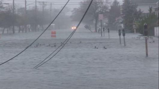 USA - Północno-wschodnia część kraju pod wodą -1