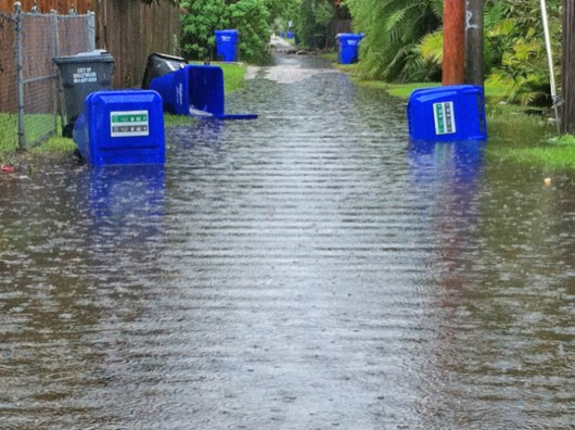 USA - Północno-wschodnia część kraju pod wodą -10