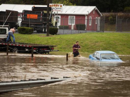 USA - Północno-wschodnia część kraju pod wodą -13