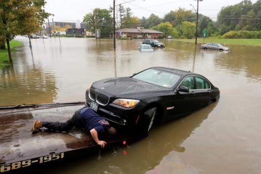 USA - Północno-wschodnia część kraju pod wodą -3