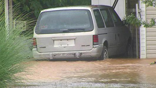 USA - Północno-wschodnia część kraju pod wodą -6