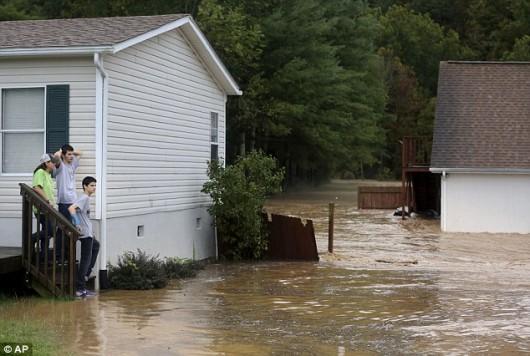 USA - Północno-wschodnia część kraju pod wodą -8