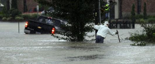 USA - Rekordowo duże opady w Karlinie Południowej, od piątku spadło 600 lmkw deszczu -1