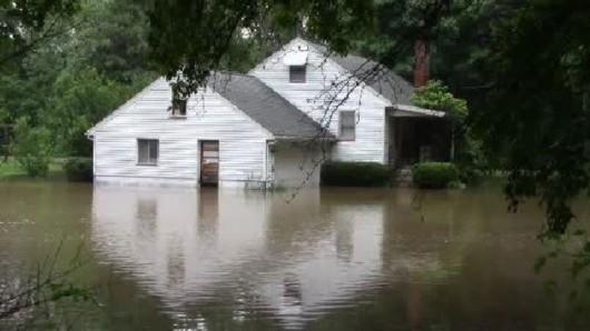 USA - Ulewne deszcze o ogromnej skali w Karolinie Północnej i Południowej -2