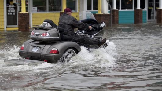 USA - Ulewne deszcze o ogromnej skali w Karolinie Północnej i Południowej -4