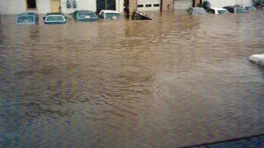 USA - Ulewne deszcze o ogromnej skali w Karolinie Północnej i Południowej -7