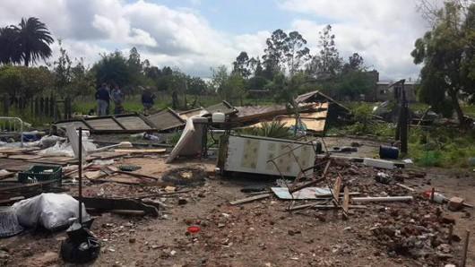 Urugwaj - Powódź stulecia i tornado -2