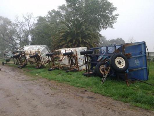 Urugwaj - Powódź stulecia i tornado -3