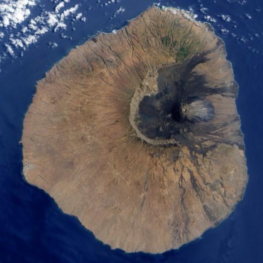 Wulkan na wyspie Fogo