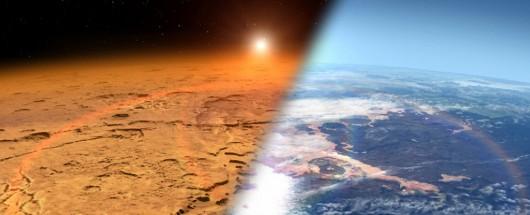Atmosfera - Mars