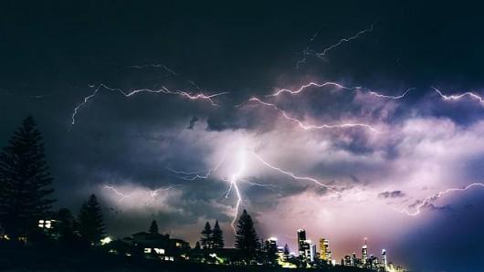 Australia - Niezwykła burza w Queensland -3