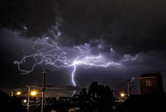 Australia - Niezwykła burza w Queensland -4