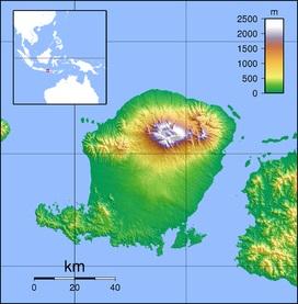 Bali_Rinjani_map