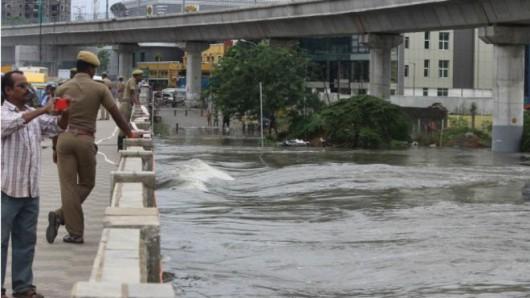 Chennai, Indie - W ciągu doby spadło 970 lmkw deszczu -5