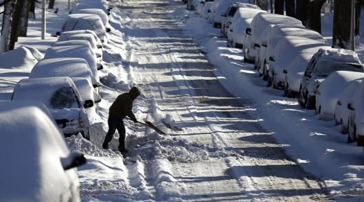Chicago, USA - Najbardziej śnieżny listopad od 120 lat -1