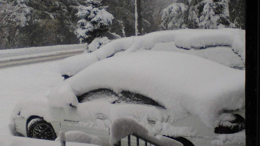Chicago, USA - Najbardziej śnieżny listopad od 120 lat -2